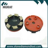 7 segment diamond segment metal round concrete block