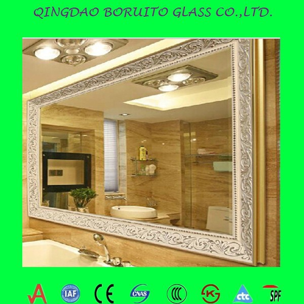 High quality silver bathroom mirrors for sale buy silver for Bathroom mirrors for sale