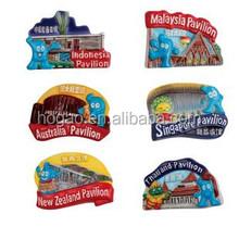 customized tourist souvenior fridge magnet