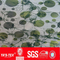 Hot sale polyester nylon printed stretch pants fabric