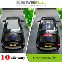 zsmell Self-Adhesive Feature electric car tinting film,on/off switchable car tint film EB GLASS BRAND