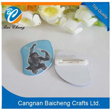 nice slight pvc name badge with best price and quality for you supporting custom design by yourself