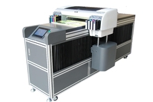 2015 New Flatbed UV LED Printing machine cheap plastic card printer