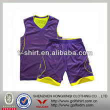 Mesh cooljade reversible sportswear basketball suits