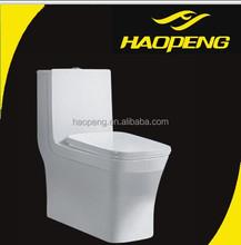 Bathroom Design Western Style Square Toilets/One Piece Siphonic Caravan Toilets
