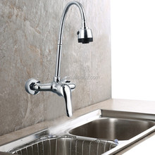 Spring universal faucets