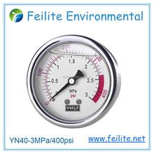 All stainless steel Liquid Filled pressure gauge