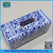 Chinese style fancy tin gift box medicine wholesale,packaging box with metal lid
