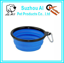 Collapsible Silicone Travel Dog Bowl