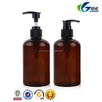 00ml/3.3oz PET plastic controlling and ance removing back skin lotion bottle with sliver/gold pump and clear cover