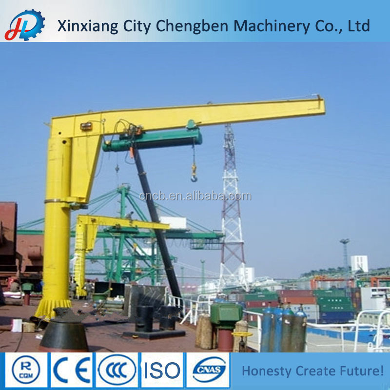 Swing Arm Hoist Mount : Floor mounted column swing arm crane on alibaba buy