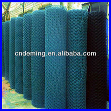 ISO9001 galvanized hexagonal wire mesh(insulated net wall/boiler cover/ poultry fence)