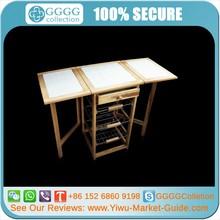 pequeño plegable de madera mesa de trabajo