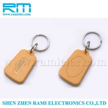 new products 125KHz rfid chip printable fob key/nfc ring tag/rfid hotel key fob with cheap price(free samples)