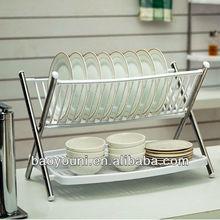 BYN DIY SGS plate holder kitchen cabinet plate holders dinner plate holder 0935