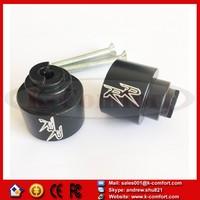 KCM255 For Honda CBR 250 600 900 929 954RR 1100 RR CBR1100XX RC51 Black Motorcycle Hand Bar Ends
