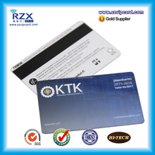 Low price making ISO 3 tracks 300oe loco plastic magnetic card