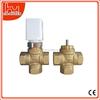 Room water floor heating control valve