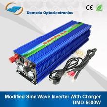 Off grid high frequency inverter 12v/24vdc 220vac 5kva modified sine wave inverter