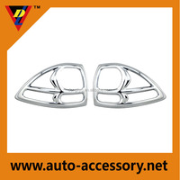 Mitsubishi parts and accessories chrome tail light cover for pajero 2008-2010