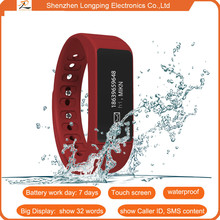 2015 2015 new products suitable for swimming smart bracelet for iphone 6 & for samsung s6 i5plus