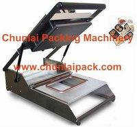 manual tray sealing machine, manual fast food sealer
