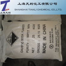 Sodium Hydroxide/Caustic Soda CAS NO:1310-73-2 99% Flakes