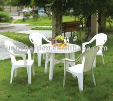 garden cheap plastic chair table furniture SG2145