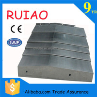 china factory hebei ruiao machine tool accessory high quality steel accordion bellows cover