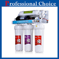 Auto flush type ro 6 or 7 stage reverse osmosis with digital display