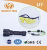 High quality good price led ultra long distance uv flashlights