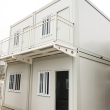 China Best Supplier Prebulit Recyclable 20Ft 40 Container House With Wheels