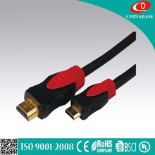 HDMI cable with gold plated high speed support 2.0v hdmi cable