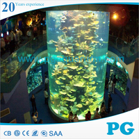 PG Different Shape Large Acrylic Aquarium