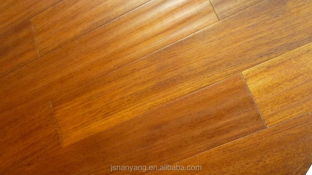 2017 Strong Waterproof Engineered Wood Floors Burma Teak Wood Price