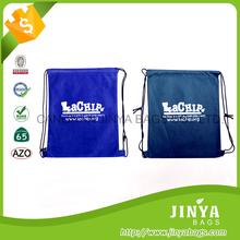 wholesale custom promotional cheap calico small drawstring shoe bag , drawstring bag