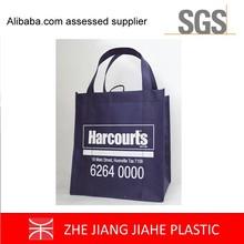 silk screen printing wholesale fabric non woven tote shopping bag