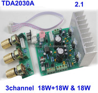 TDA2030A 2.1 Stereo Amp 3 Channel Subwoofer Audio Amplifier Circuit Board DIY power amplifier module