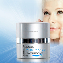 Best vitamin e whitening face moisturizing cream mineral water Multi Peptide remove melanin cream for face