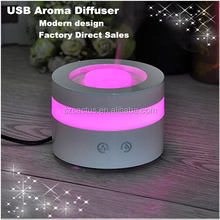 mini LED color change lamp air fresheners aroma diffuser, electric room fragrance essential oil diffuser
