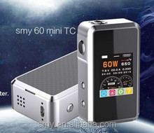 SMY60TC Mini----Top quality vapor mod SMY60 TC produce by SMY vapor cigarette wholesale SMY tech