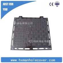 cast iron rectangular manhole cover EN124 400*400 can be customised
