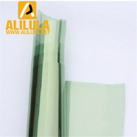 1.52*30m energy saving 2ply plastic green window protection tint film for car rear/windshield