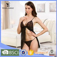 Comfortable High Quality Underwear cupless sexy black girls nighty sexy wear lingerie