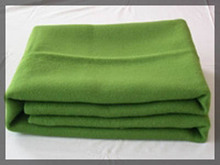 flame retardant polyester and cotton blended aircraft blanket/airline blanket
