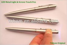 Cheap price promotional 2 in 1 uv light invisible ink pen