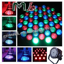 led outdoor lighting 54pcs waterproof led par light with barn door