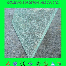 white silk screen printing glass table top/furniture glass/glass table