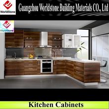 L shape high end kitchen cabinet