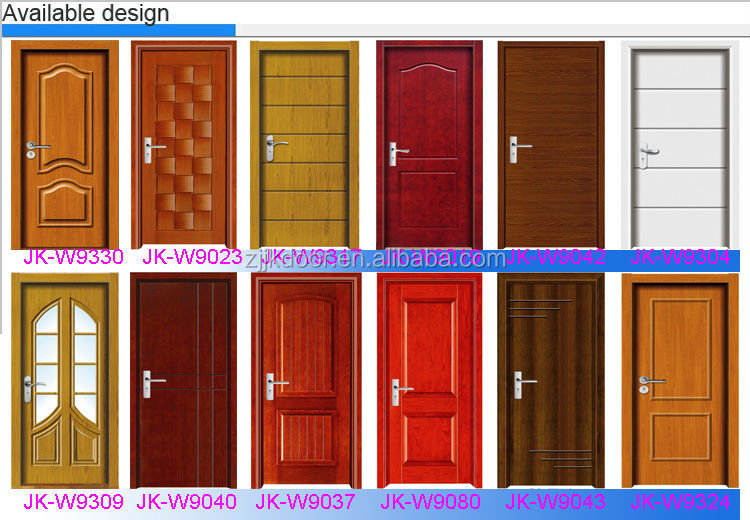 Jk w9008 simple teak wood door designs main door wood for Simple wooden front door designs